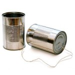 Phone of cans