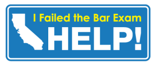 Help! I Failed the California Bar Exam