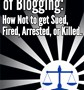 The Legal Side of Blogging